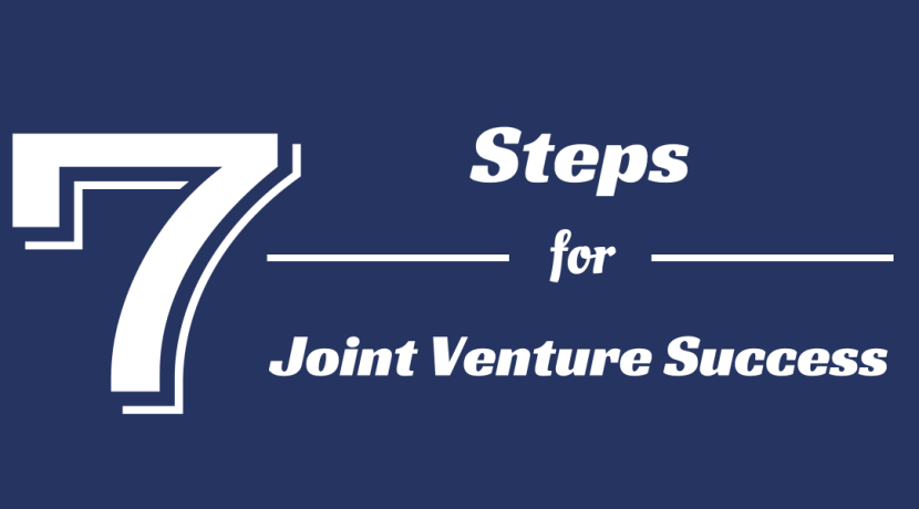 7 Steps for Joint Venture Success