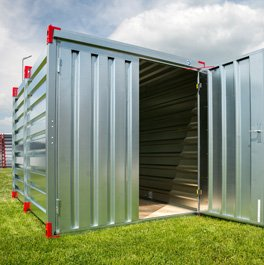 Distribution Company Specializing in Portable Storage Containers