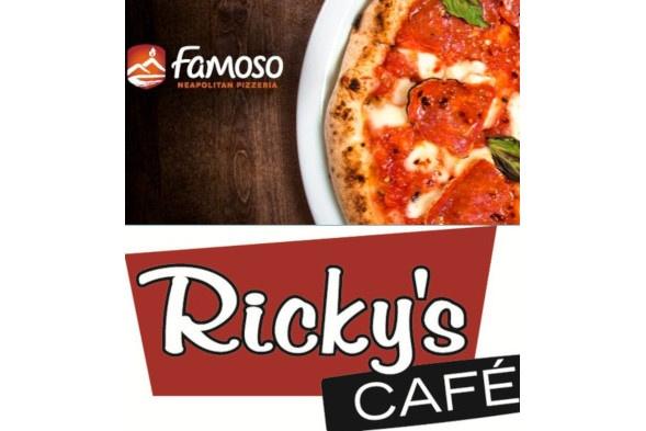 Famoso Pizzeria/Ricky's Dual Brand Restaurant For Sale in Regina